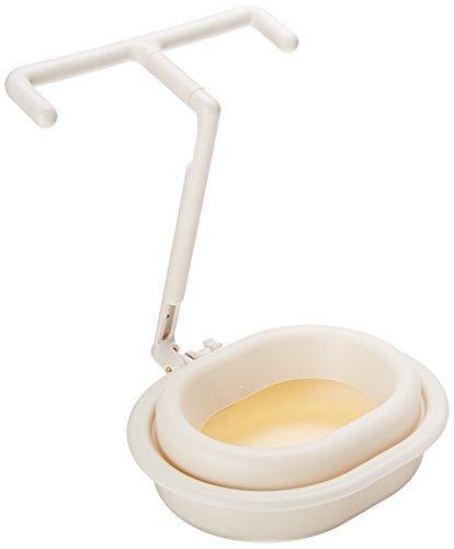 flydog auslaufsicher Pet Travel Bowl Suspended Travel Wasser Bowl mit 2-teiligem Design, Medium, Sand