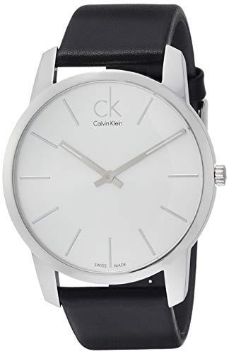 Calvin Klein Montre Bracelet à Quartz analogique Cuir K2G211C6