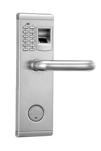 Huella biométrica y bloqueo de la puerta de la...