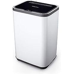 QXKMZ Sèche-Linge, Autonome Charge Avant 15 kg Tambour intérieur en Acier Inoxydable, système de contrôle de séchage Intelligent, séchoir à Linge pour la Maison et Les dortoirs