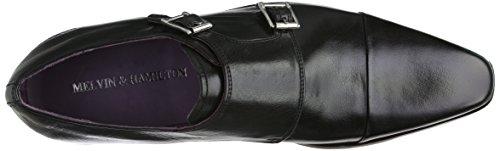 Melvin & Hamilton Lance 1, Chaussures de ville homme Noir (Black)