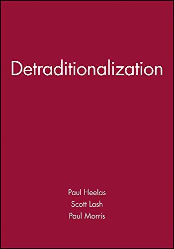DETRADITIONALIZATION por HEELAS