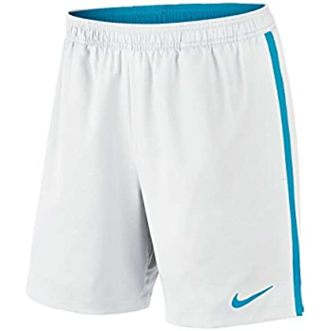 Nike Court 7 In Short - Pantalón corto para hombre, color blanco / gris, talla L