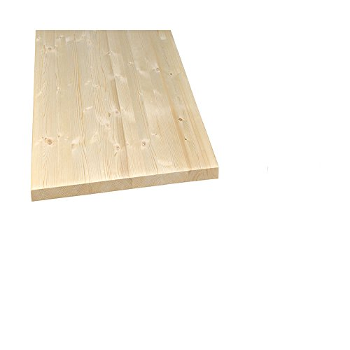 Möbelbauplatte Regalbrett Regalboden Leimholz Fichte Royal 1500 x 250 x 18 mm