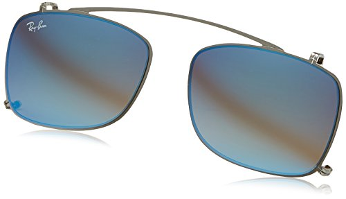 Ray-Ban - RX 5228, Wayfarer, Metall, Herrenbrillen, SILVER/GREY BLUE MIRROR(2501/B7), 53/17/0