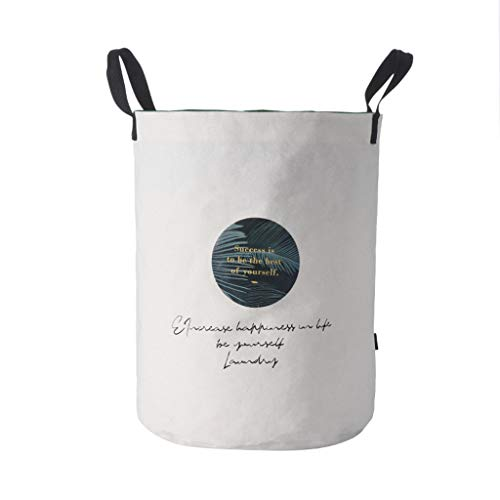 Aufbewahrungskörbe(Kleidung),Rifuli® Wäschekorb Wäschekorb Baumwolle wasserdicht Waschbeutel Faltbare Lagerung Aufbewahrungsboxen Aufbewahrung für Kinderzimmer