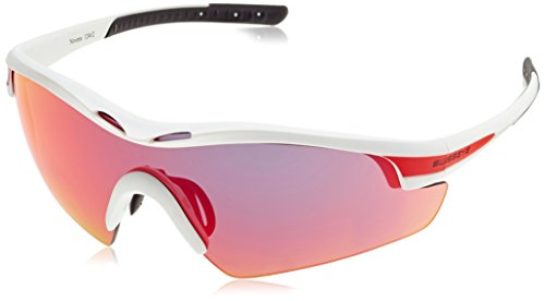 Swiss Eye Sportbrille Novena RX, White Matt/Red, One Size, 12462RX