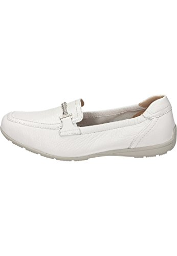 Caprice Damen mocassino 9-24651-115 bianco Bianco