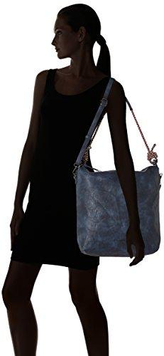 Tamaris - Lindsey Hobo Bag, Borse a spalla Donna Blu (Navy)
