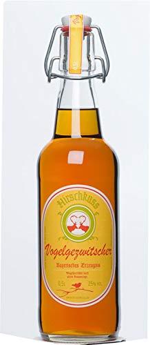 Hirschkuss Vogelgezwitscher 0,5l, Vogelbeerlikör - Vogelgezwitscher aus Oberbayern