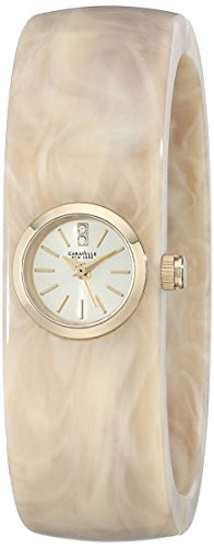 Caravelle New York Women's 44L136 Analog Display Japanese Quartz Watch