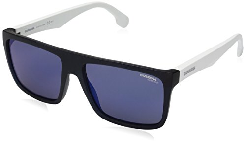 Carrera Unisex-Erwachsene 5039/S XT ZE3 Sonnenbrille, Weiß (Light Smtwhte/Blue Sky Grey Speckled), 58