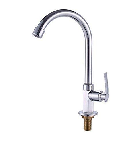 Preisvergleich Produktbild LYQ LYQWasserhähne Hexagon Einzelnes Wasser Schraubenschlüssel Küche Zinklegierung Drehbar Vertikal Wasserhahn