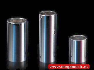 SLIDES GUITARRA ELECTRICA   DUNLOP (MOD 228) (CROMADO) (HEAVY/MEDIUM) (19X27X51MM)