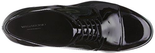 Vagabond Code, Derbies à lacets femme Noir - Schwarz (20 Black)