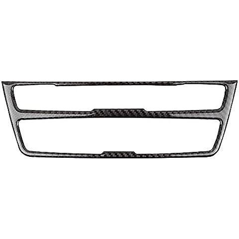 Fibra di carbonio Telaio Medio Console controllo interno, specifico per BMW Serie 3/3GT 2013–2015per accessori