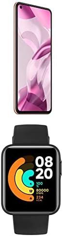 Xiaomi 11 Lite 5G NE, 256GB, 8GB RAM, 5G, Peach Pink+Mi Smart Watch Lite Black
