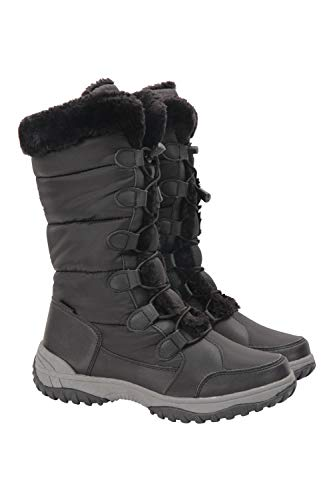 Mountain Warehouse Snowflake Womens Long Snowboots - Snowproof Shoes