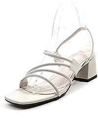 Nuit d'été avec Dew-Line Chaussures Cuir Minimaliste Romain Sandales Femmes