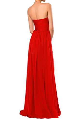 Sunvary semplice, senza spalline in Chiffon Elegante vestito da damigella d'onore abito da matrimonio Black