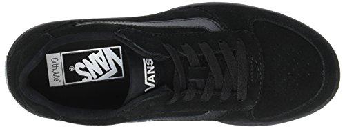 Vans Herren Knoll Sneaker Schwarz (Suede)