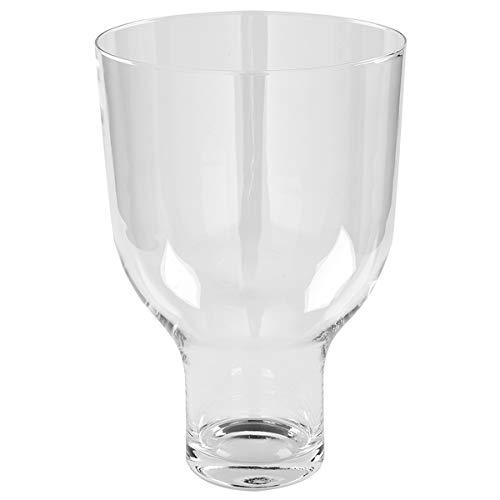 Fink - Windlicht, Glaseinsatz für Corona Adventsleuchter 127191 - Macht aus dem Adventsleuchter EIN Windlicht