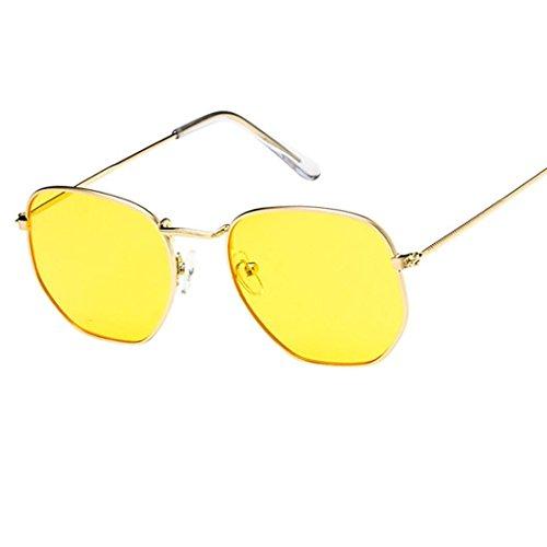 Gusspower Gafas de Sol Polarizadas, Gafas Vintage del Metal de Moda Conducción Pesca Esquiar Golf Aire Libre para Hombre y Mujeres Unisex (G)