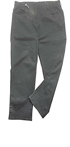 adonia mode Sagenhaft komfortable Damen Dehnbund-Jeans Grau Gr.52