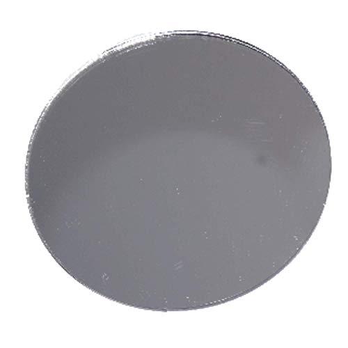 in-outdoorshop qualitativ hochwertiger Acryl Spiegel Zuschnitt Scheibe 3mm Acrylglas XT Silber (Ø 50cm)