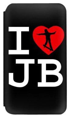 MusicSkins I Heart Justin Bieber Schutzfolie für Apple iPod Touch 2./3. Generation (Justin Bieber Ipod)