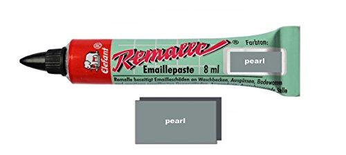 * Smaltato Remalle pasta smaltato vernice riparazione vernice in molti colori da 8ml + Pennello per ogni tubo perla