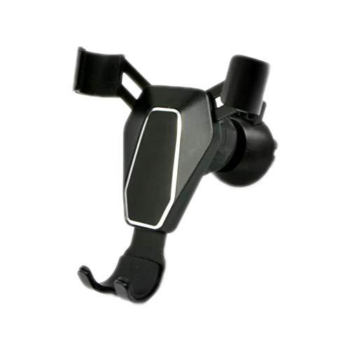 Vi.yo Handyhalter Auto Handyhalterung Multi Winkel Handy Ständer Schwerkraftautoausgang Autotelefonhalter, Legierung, 13 * 8cm