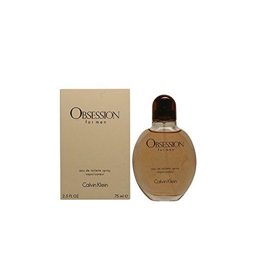 Calvin Klein Obsession Eau de Toilette Spray for Men 75 ml lowest price