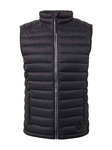 TOM TAILOR für Männer Jacken & Jackets Leichte Weste Black, XXXL