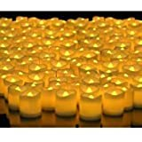 Indiana LED Light Candles - Yellow (Box Of 12)