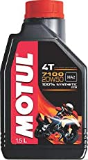 MOTUL 4T 7100 20W50 100% Synthetic 1.5ltr