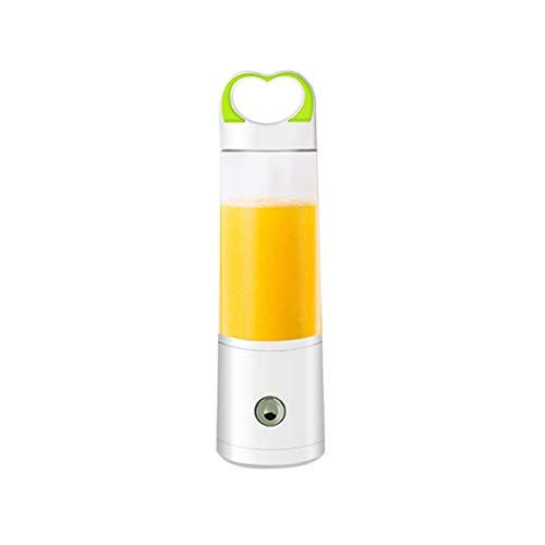 Energie Flüssige Multivitamin (ZFgzj Handmixer, persönlicher Mixer für Schneebesen, Elektromixerflasche, Edelstahl-Einwegmixer Weiß)
