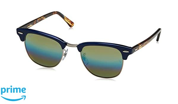 ae446165c8 Ray-Ban UV Protected Browline Clubmaster Men s Sunglasses -  (0RB30161223C451