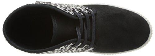 Victoria Safari Tejido Print Animal, Baskets mode femme Multicolore (Negro)