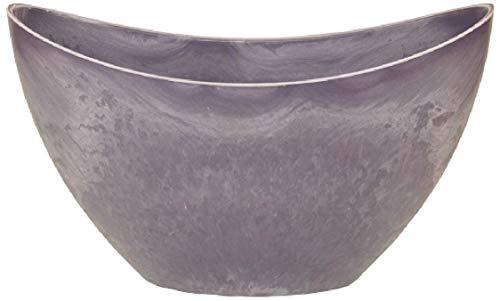 Schreiber Bol décoratif en Plastique Violet 24 x 10 x 14 cm