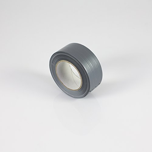 Extra Power Gaffer Tape silber, 50m x 48mm - Gewebeklebeband / Reparaturklebeband - showking