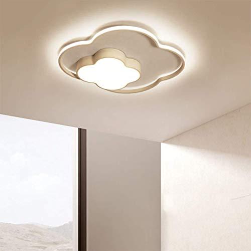 35W LED Modern Deckenleuchte Dimmbar mit Fernbedienung Kinderlampe Wolke Design Acryl-Schirm Deckenlampe Innen Metal Deckenstrahler für Mädchen Jungen Schlafzimmer Bad Esszimmer Leuchten -