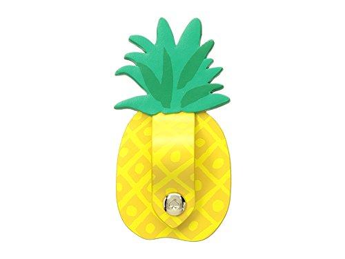 Kate Spade New York Women's Pineapple Cord Keeper Sticker Yellow One Size -