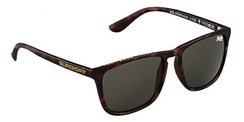 Superdry lunettes de soleil Shockwave 102 Dark Havana Matte Green