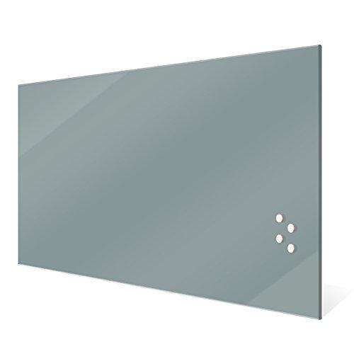 Silber 2 XIKEA Magnettafel SPONTAN 37 x 78 cm, Stahl
