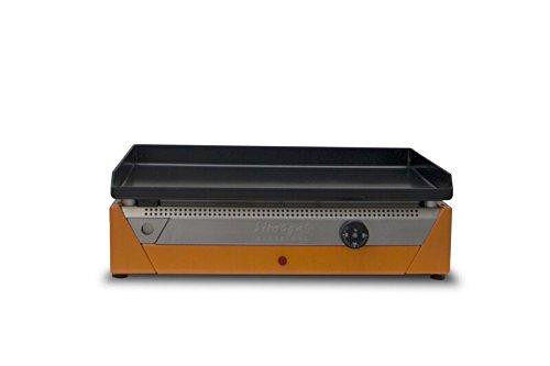 Simogas Rainbow E50Arancione Piastra elettrico acciaio arancione