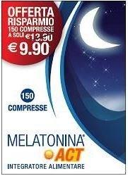 Melatonina Act 1 Mg 150 Compresse