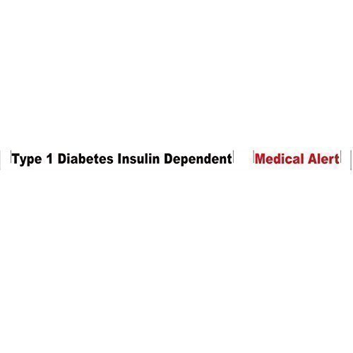 type-1-diabetes-wristband-1-x-white-medical-alert-new-3-tone-bracelet-100-silicone-id-card-emergency