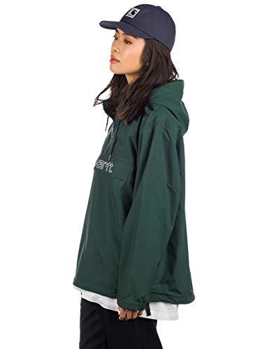 Chaqueta Carhartt Script Pullover Verde Mujer XS Verde