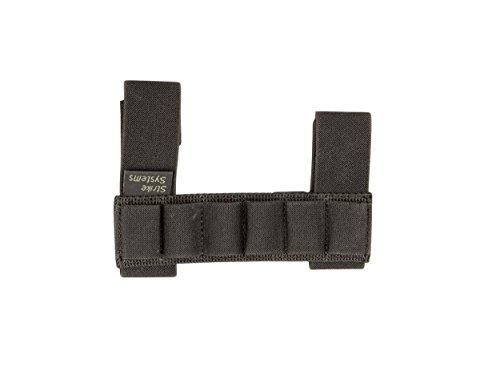ASG Strike Systems Porte-Cartouches pour Douilles de Fusil à Pompe Adulte Unisexe, Noir, Taille unique